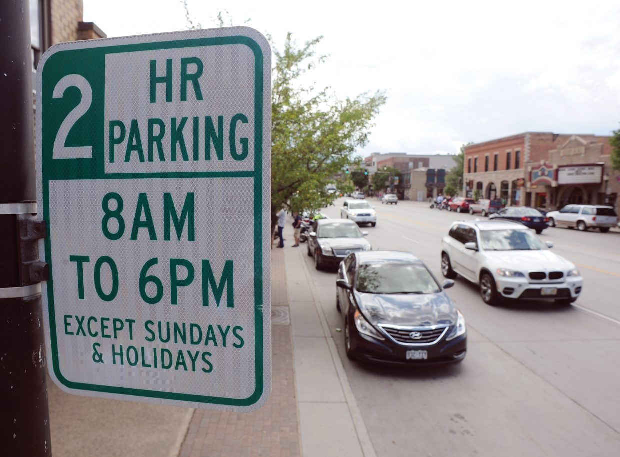 business leaders in steamboat springs weigh possible changes to downtown parking steamboattoday com steamboat pilot