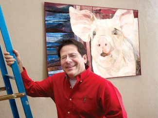 Quilt artist David Taylor in Steamboat for lecture