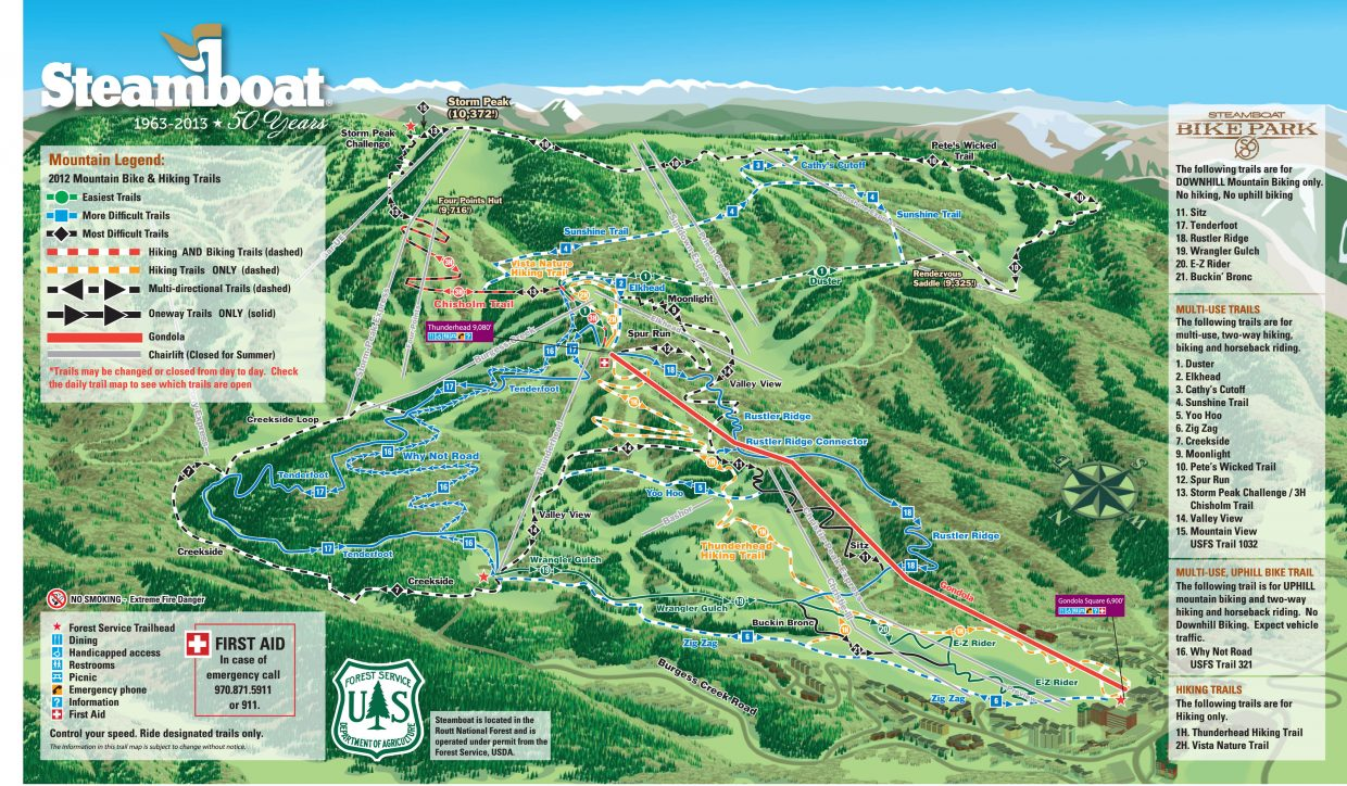 Bike Guide 2012: What\'s new at Steamboat Ski Area ...