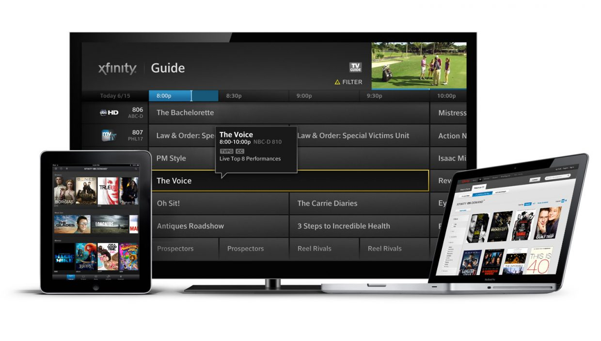 Comcast rolls out X1 Platform, On Demand programming in