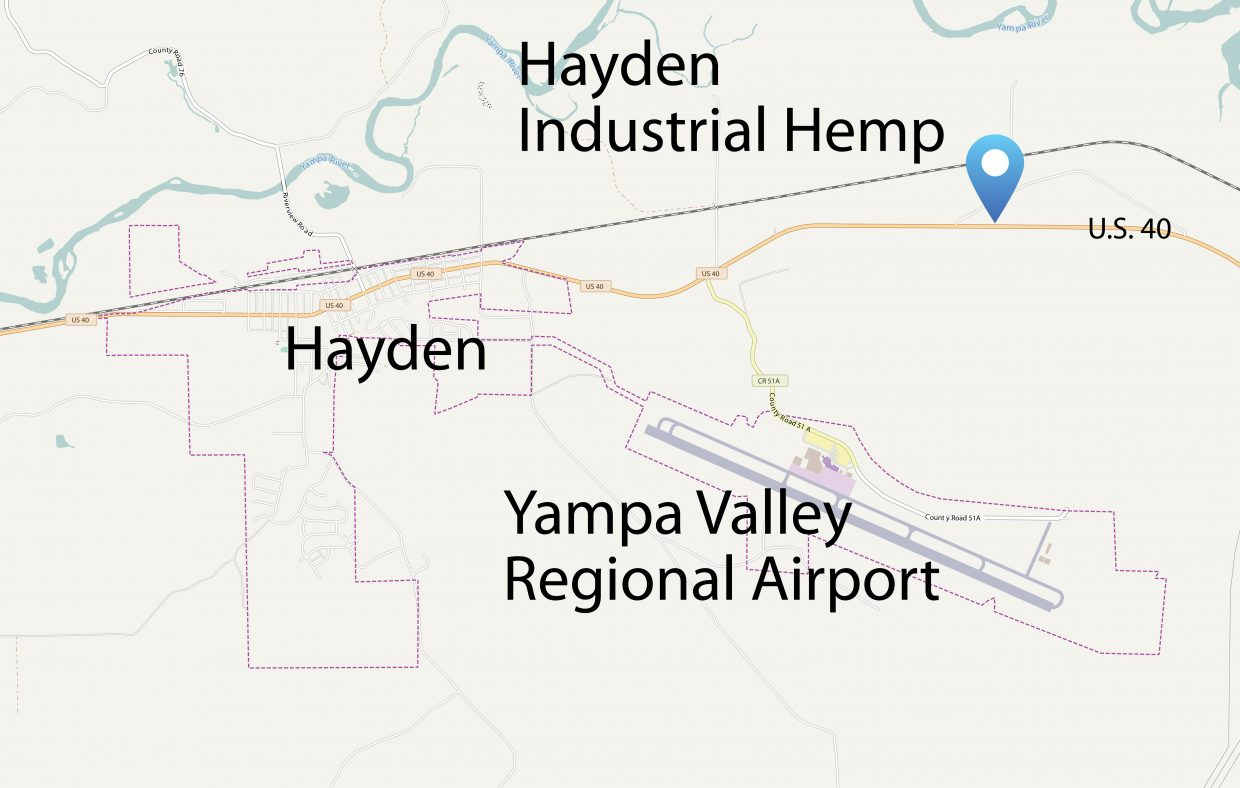 Hemp Business Seeks To Grow Facility West Of Steamboat - Map of the us highway 40