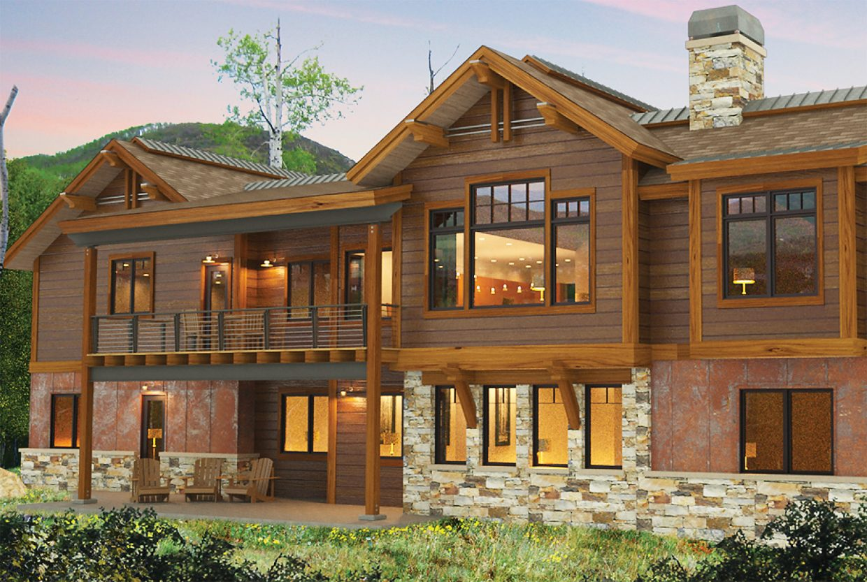 development team tackles rare spec home in steamboat