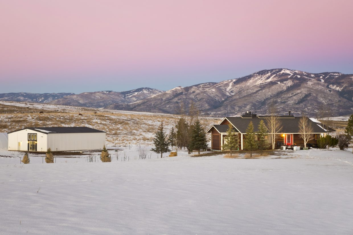 The Foundry is situated on a 48-acre parcel on Colorado Highway 131 south of Steamboat Springs.