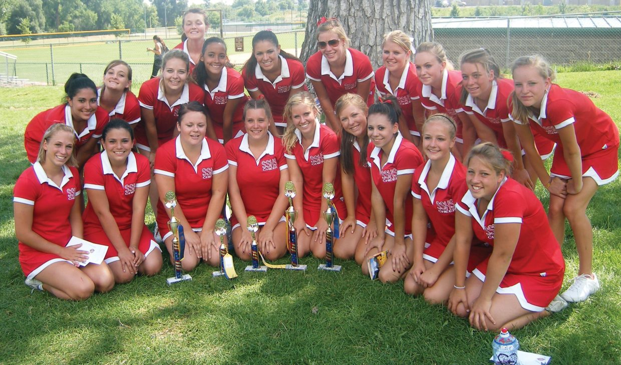 b219e0e722b Members of the Steamboat Springs High School cheerleading team recently  returned from a camp at Regis University where the varsity girls took first  place in ...