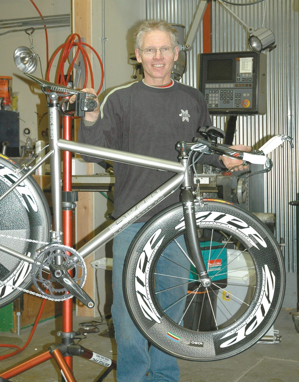 Tom Ross: Pipeline full at Eriksen Cycles | SteamboatToday com