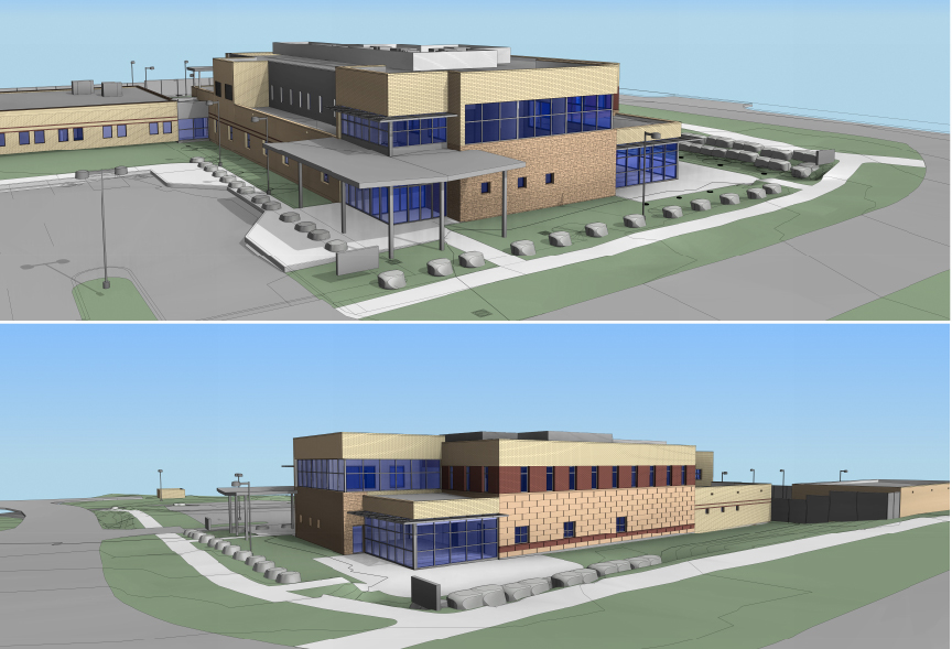 New law enforcement facility blueprints submitted to steamboat city courtesy rendering malvernweather Images