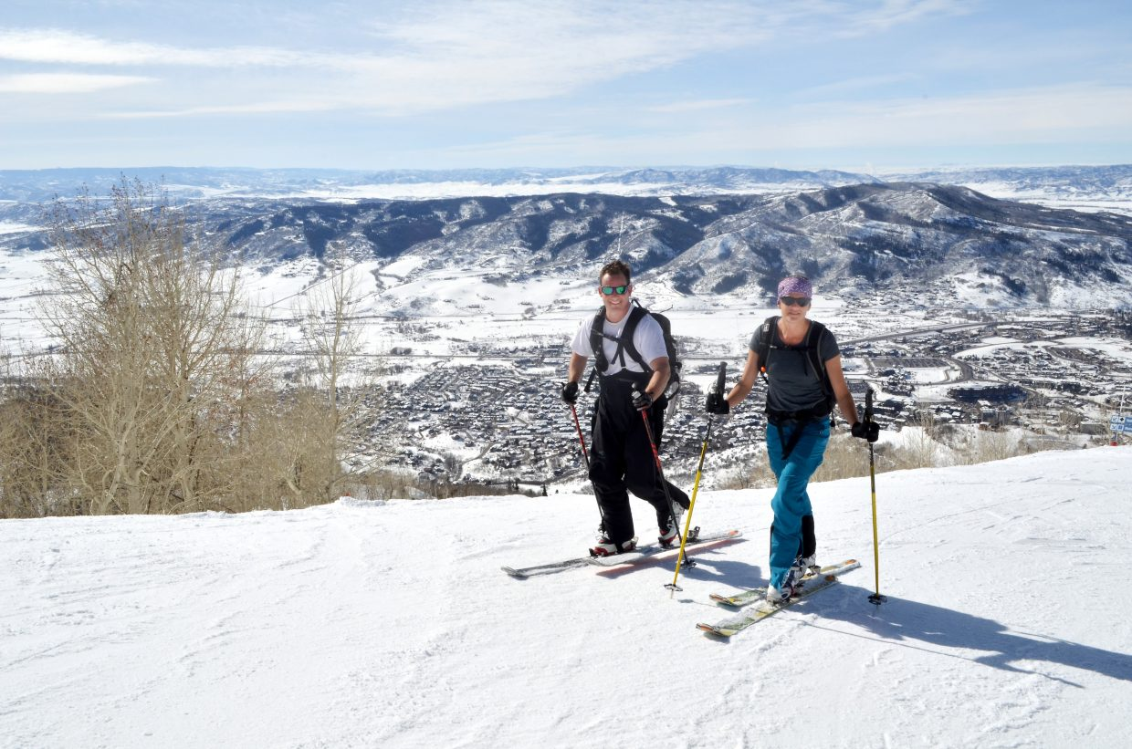 steamboat resort sets routes for uphill skiers discourages dogs