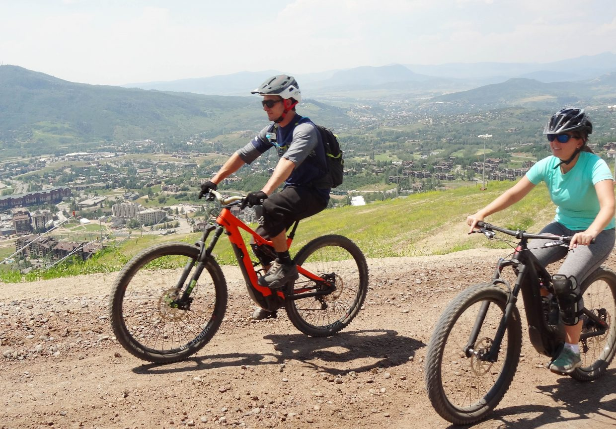 A mixed bag of opinions on Steamboat's e-bike rules as board mulls expanding use