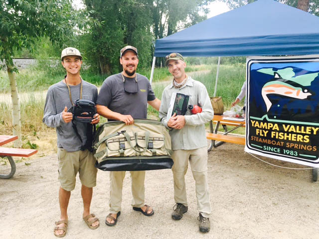 Free barbecue and casting instruction clinic held by the Yampa Valley Flyfishers/Trout Unlimited at Fetcher Park on July 19.