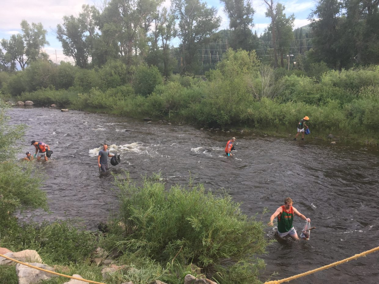 Steamboat Rugby Cleaning the river – also the big Cow Pie Classics is coming up this weekend!