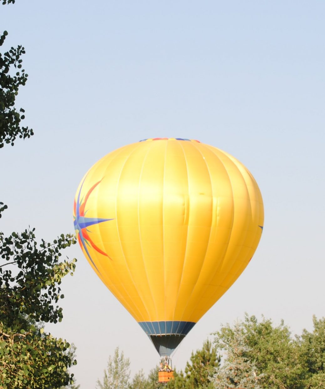 One day before Balloon Rodeo