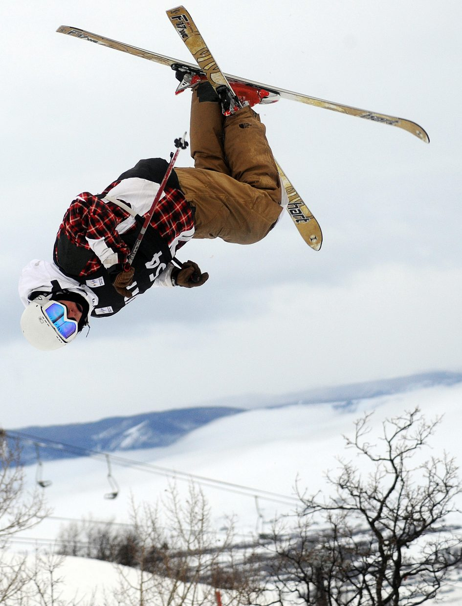 Dyer skis in 2010 at the U.S. Ski freestyle team selections event in Steamboat Springs. He had one of the best weeks of skiing of his life to that point and earned a spot on the U.S. Team.