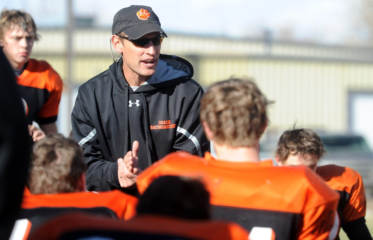 Shawn Baumgartner stepped down as Hayden's football coach after 12 years as the top Tiger.