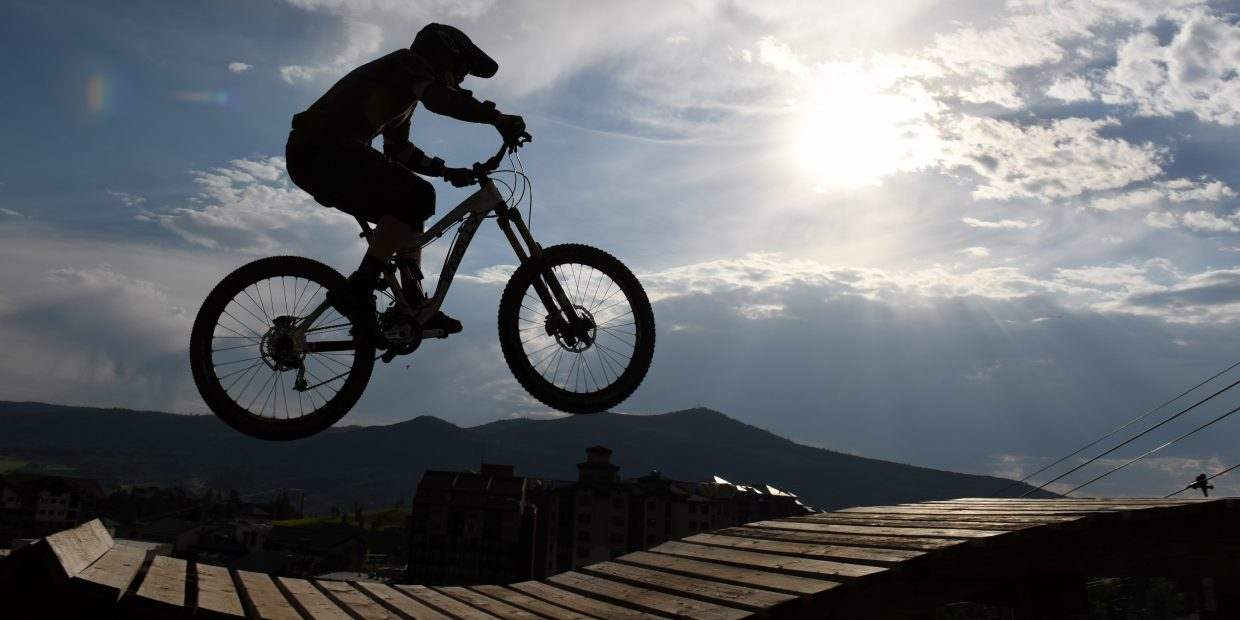 It was another good year for local mountain bikers as new trails opened around the valley, including on Emerald Mountain and at Mount Werner.