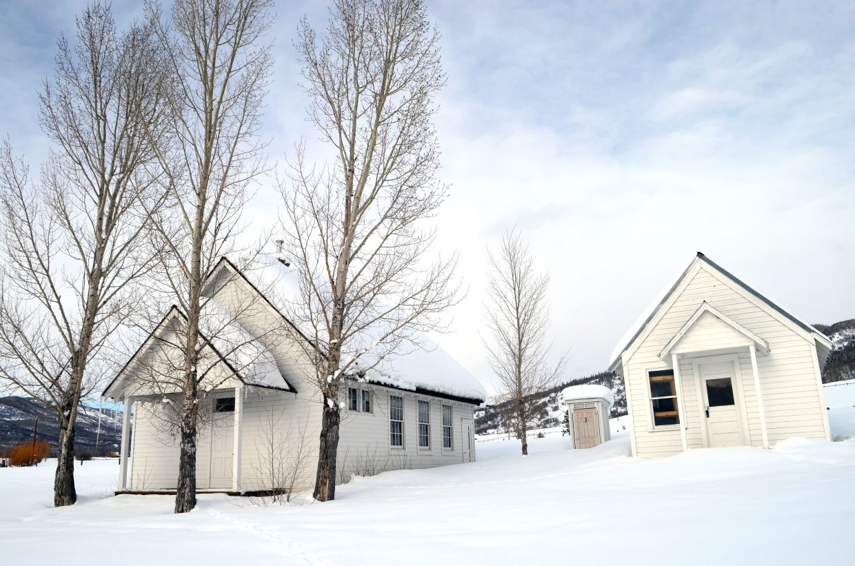 The Steamboat Springs School District is one step closer to the restoration of the historic Fly Gulch School on the Strawberry Park Elementary campus. Renovations on the buildings could begin this summer.