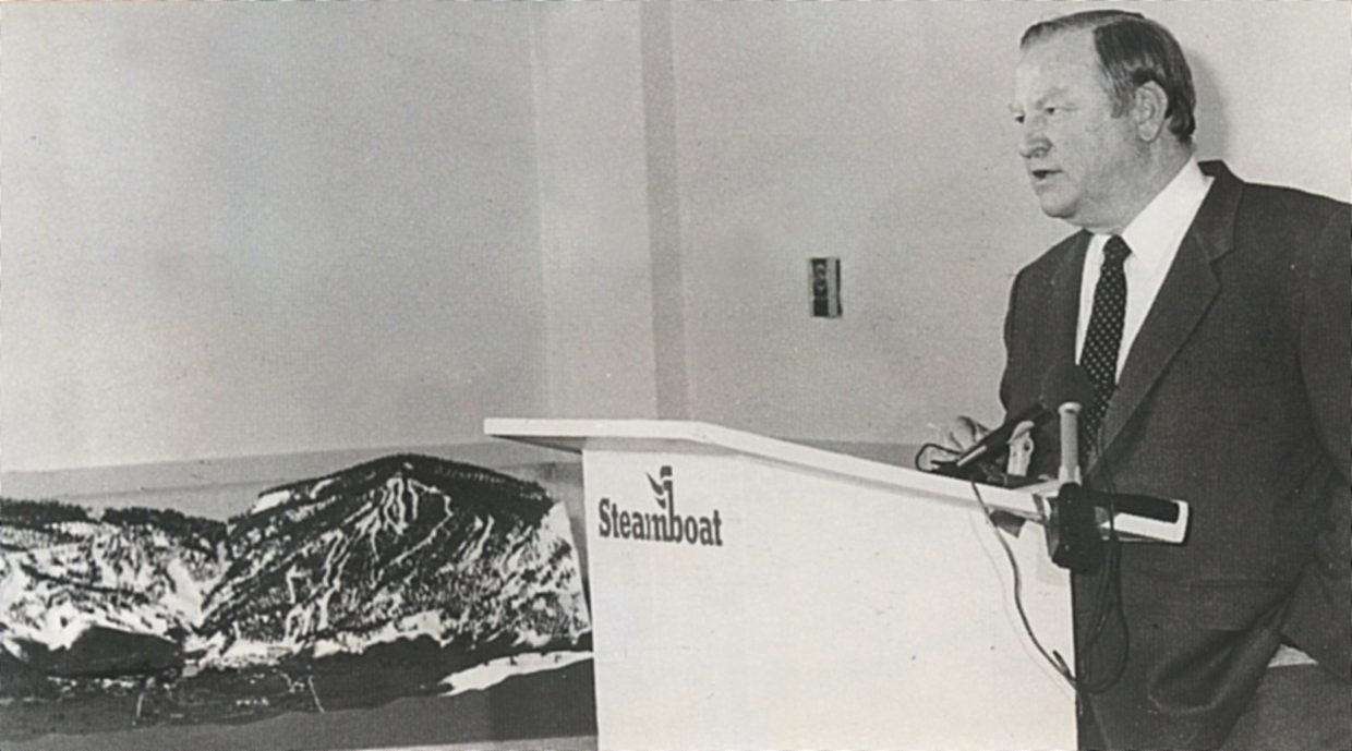 The late Martin Hart, who died Jan. 3, pressed for the development of a major new ski area on Mount Baldy overlooking Lake Catamount in the late 1980s and early 1990s. Although the Catamount ski area never came to pass, Hart always will be remembered for his tenure at Steamboat Ski Area, with the development of direct air service, Sunshine Bowl and the eight-passenger gondola.