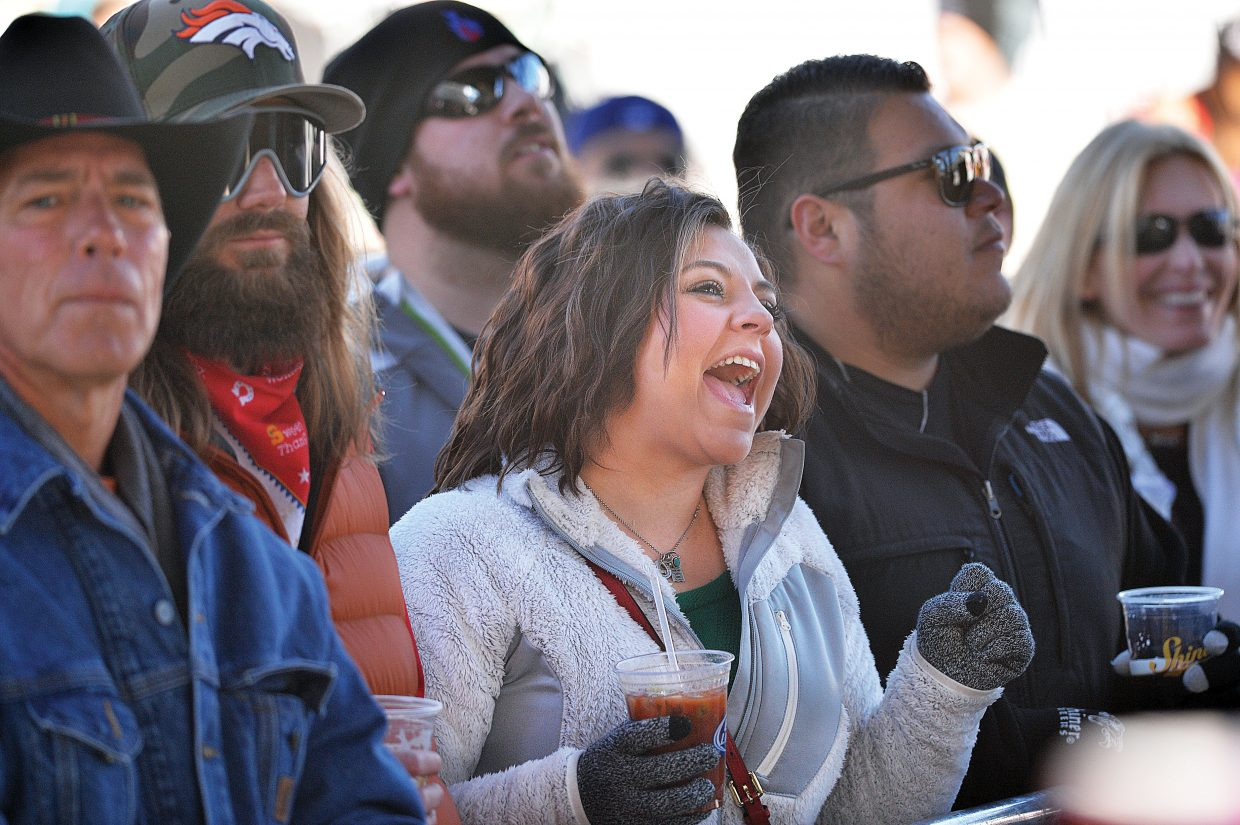 Country music fan Jana Bewley sings along with Jonathan Tyler and his band during a free concert Wednesday at the base of Steamboat Ski Area. The fans and the musical group was in town as part of this year's MusicFest.