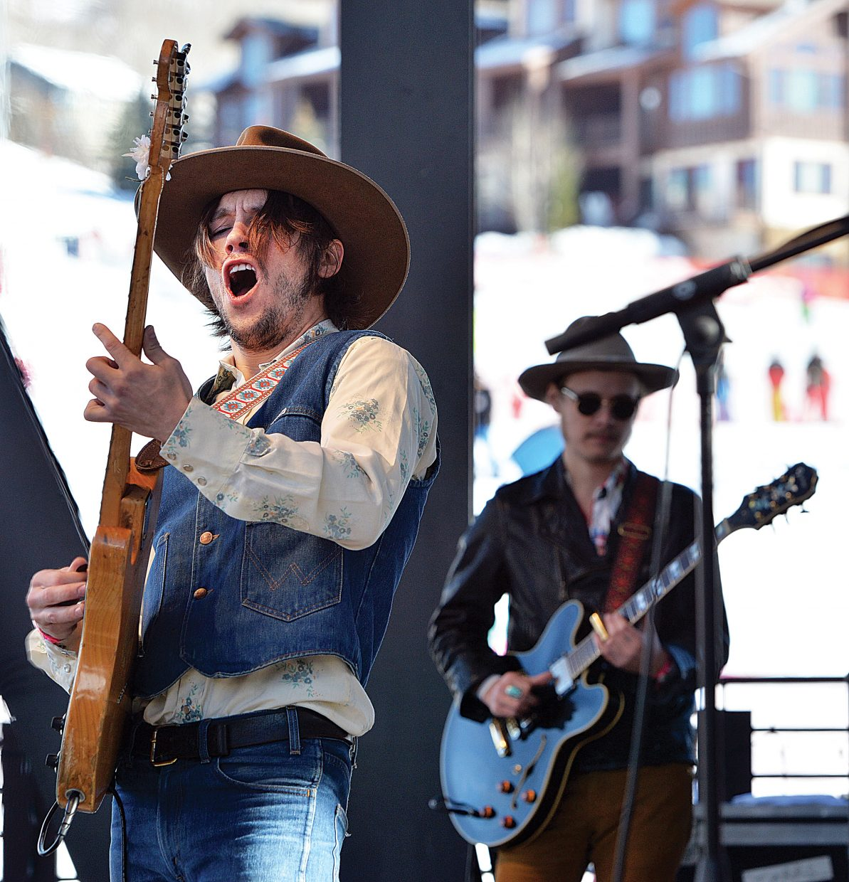 Jonathan Tyler and his band performed live Wednesday afternoon during a free concert in Gondola Square. The group was in town as part of this year's MusicFest.