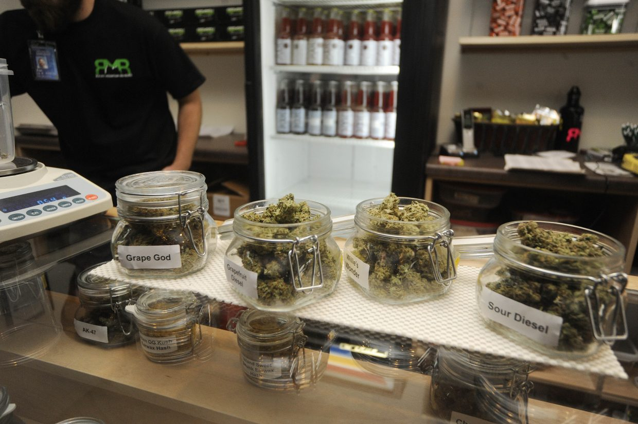 Rocky Mountain Remedies was selling several strands of marijuana for recreational use.