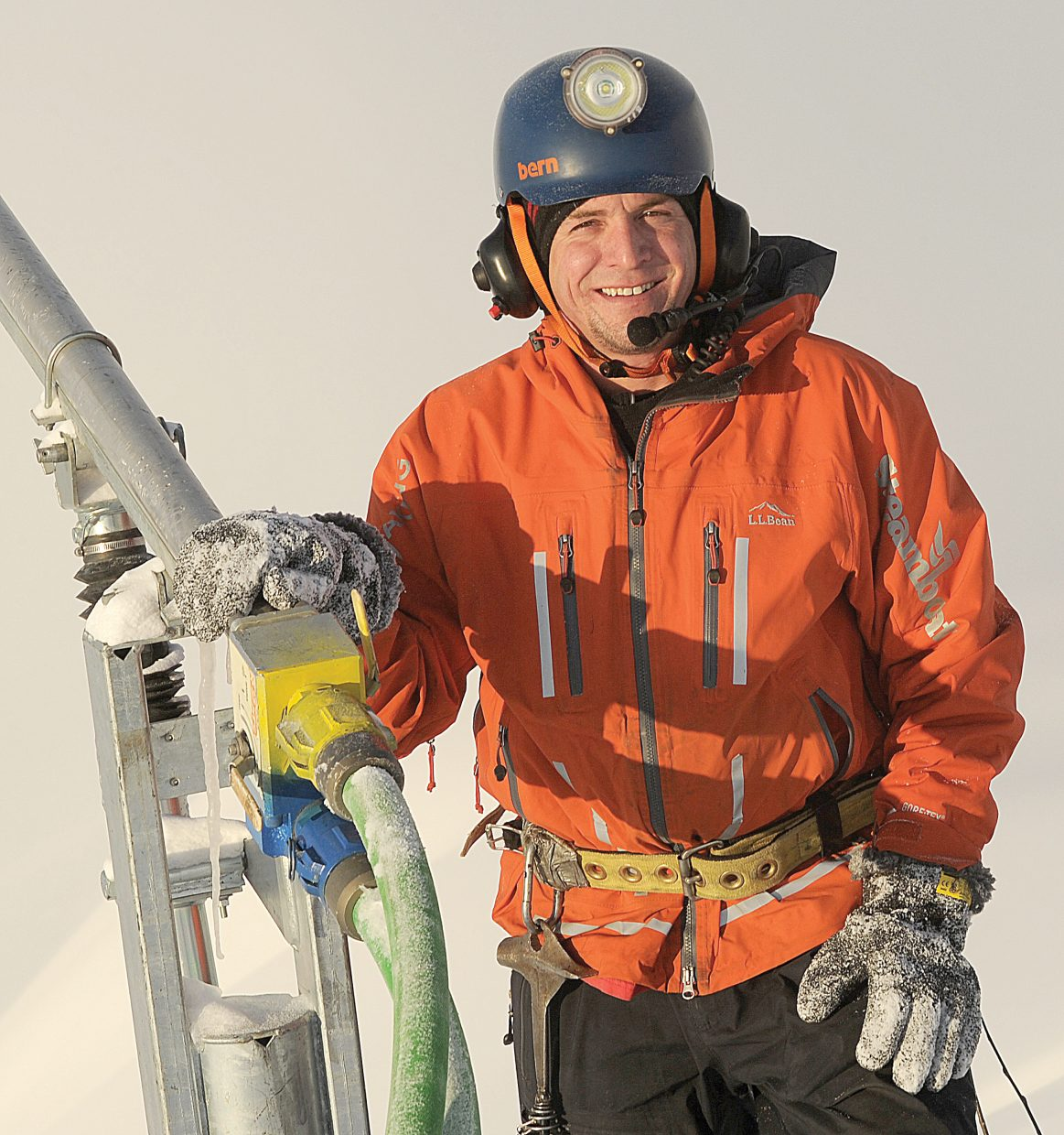 Steamboat Resort's Corey Peterson was named as one of the top six snowmakers in the country by Ski Area Management magazine in 2014.