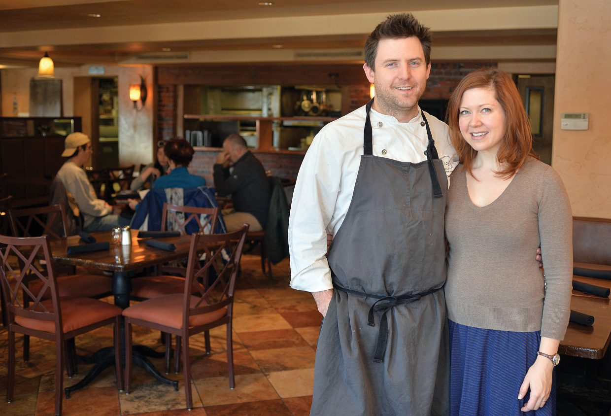 John and Sharon Gamradt recently took over the Cugino's Pizzeria & Italian Restaurant in Steamboat Springs.