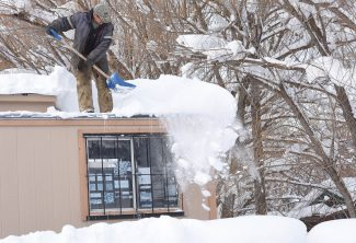 Wet storms pose snow, ice threats for roofs across Routt County
