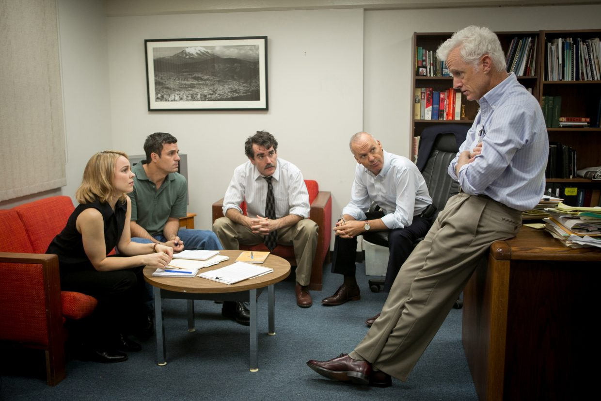 """The film """"Spotlight,"""" pictured, was the Denver Film Critics Society's selection as Best Picture of 2015. The announcement of the regional group's picks was made this week and included features ranging from """"The Revenant"""" and """"Room"""" to """"Inside Out"""" and """"Creed."""""""