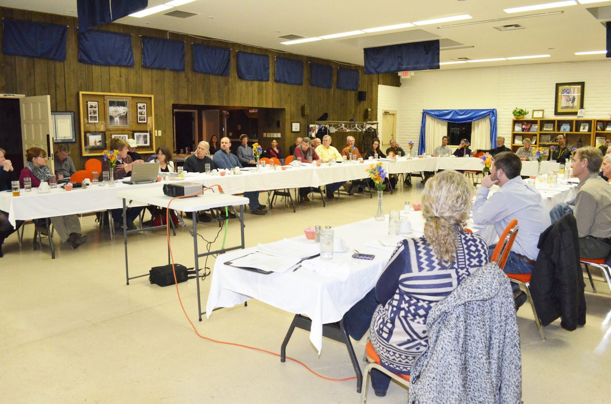 Members of the Yampa/White River Basin roundtable met on Wednesday in Craig to discuss Western Slope water basin plans.