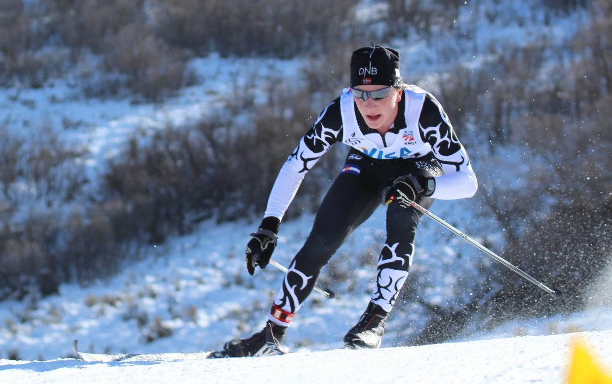 Lars Hannah was 37th in the men's 15K race and first in his U18 class during the U.S. Cross-Country National Championships this weekend.