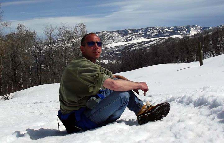 Rick Freeman takes a break during a hike on Emerald Mountain in 2010. The former Steamboat resident has released a memoir about his health and life, including his time in Steamboat.
