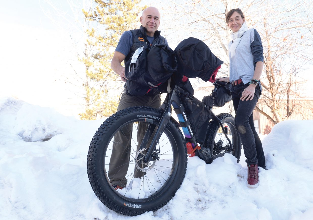 Graham Muir and Kellie Nelson braved the elements during the weekend while taking on Jay P's Backyard Fat Pursuit. The two failed to finish the course, but were able to overcome dangerous temperatures and heavy snow.