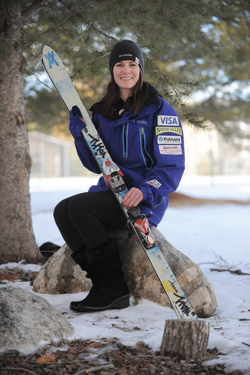 Longtime Steamboat skier and former Steamboat Springs Winter Sports Club skier Eliza Outtrim notched her first Olympic berth Tuesday.