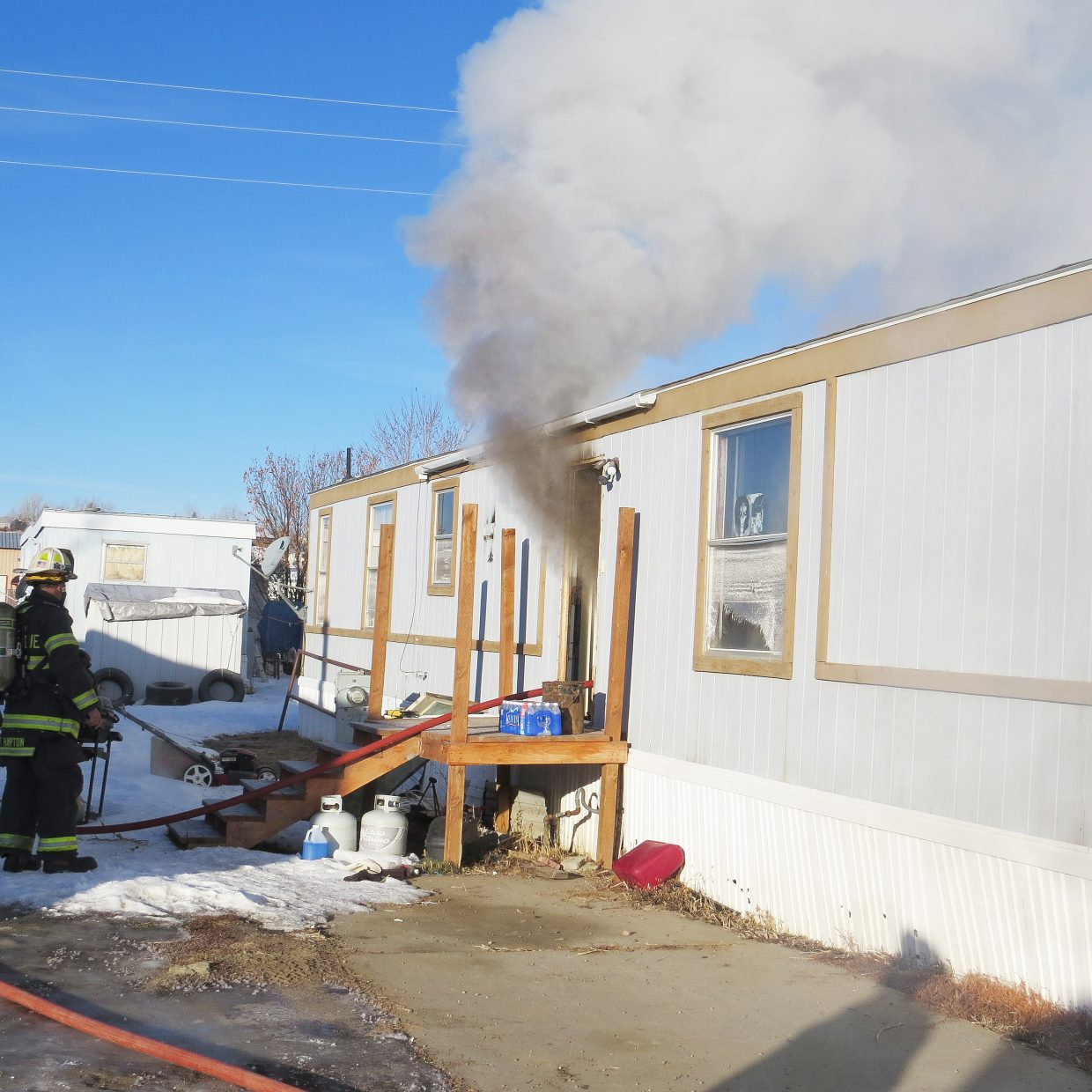 Craig Fire/Rescue responded to a structure fire in the 2200 block of Third Street on Thursday morning. Battalion Chief Troy Hampton said after the initial investigation, it's believed a small electrical appliance or faulty electrical wiring in the kitchen started the fire.
