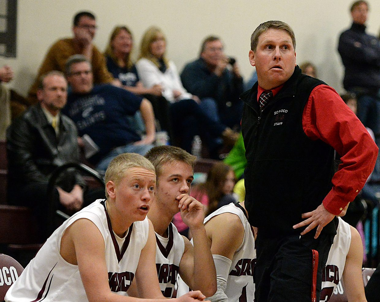 Soroco coach Jake Eskridge tried not to look at important late-game free throws Wednesday, but he couldn't help himself.