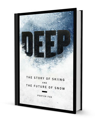 "Powder magazine editor and writer Porter Fox will be signing copies of his book ""Deep: The Story of Skiing and the Future of Snow"" at 7 p.m. Saturday at Off the Beaten Path Bookstore."