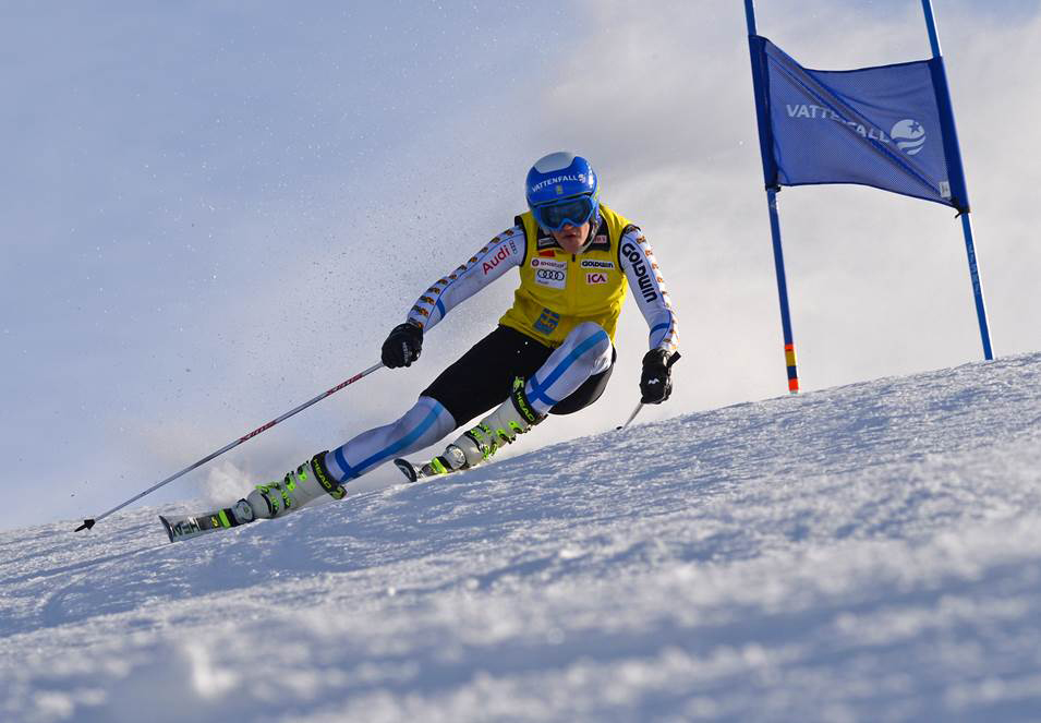 Members of the Swedish women's Alpine ski team flew down the lower slopes of Mount Werner on Tuesday morning, practicing on the See Me and Sitz runs ahead of next week's World Championships in Vail and Beaver Creek. Long-time World Cup racer Caroline Lalive Carmichael worked with the team in Steamboat.