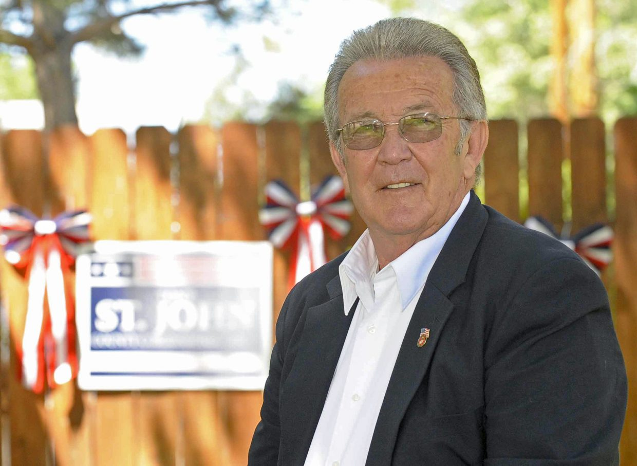 Former Craig City Councilor Tony St. John announced he would seek the Moffat County District 2 seat as Republican. Commissioner Chuck Grobe currently holds the seat but is not seeking reelection.