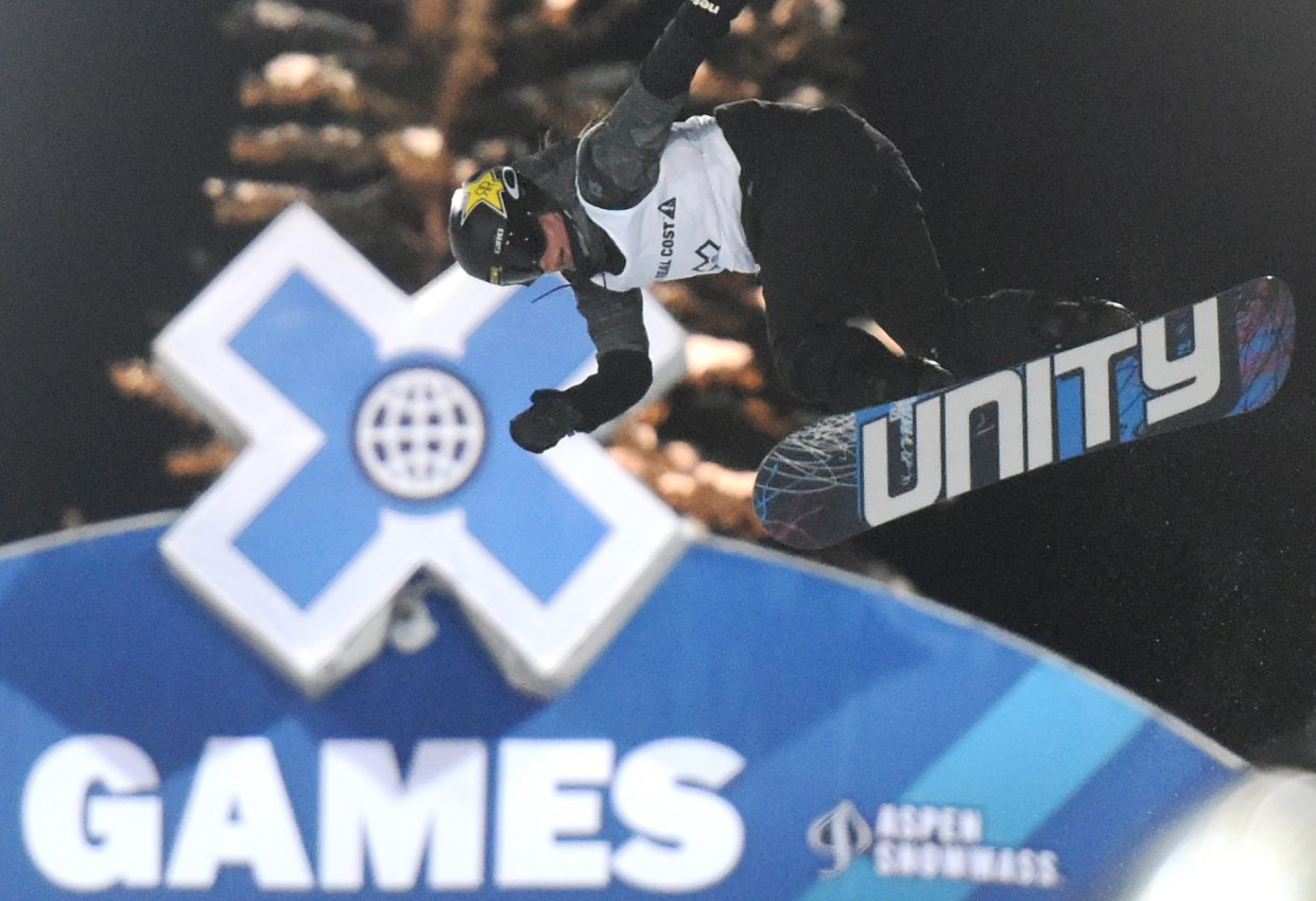 Arielle Gold was sixth Saturday at X Games.