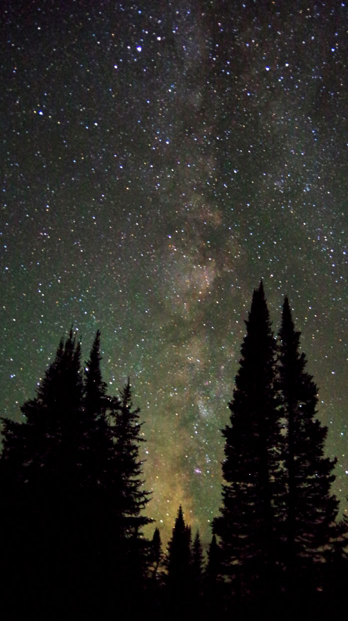 Night Lights atop Rabbit Ears Pass. 9-16-14 around 11:30p.m. Submitted by Matt Helm.