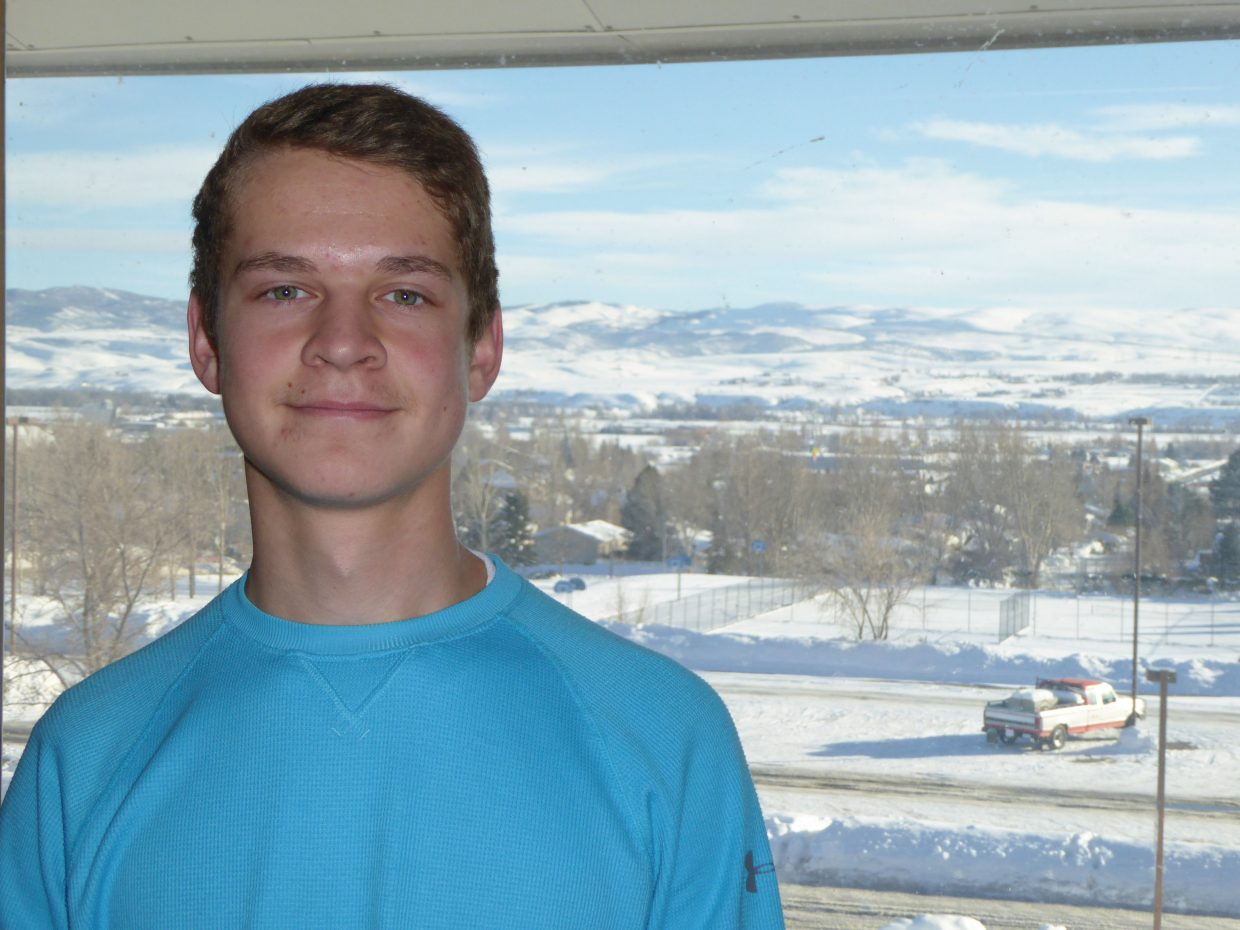Garrett Flint has been honored as the 2015 Steamboat Springs Community Youth Corps member of the year.