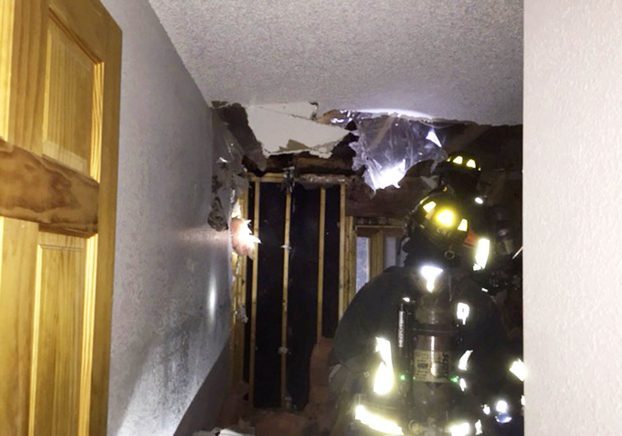 Steamboat Springs Fire Rescue firefighters on Thursday night responded to a fire at a Whistler Village townhome.