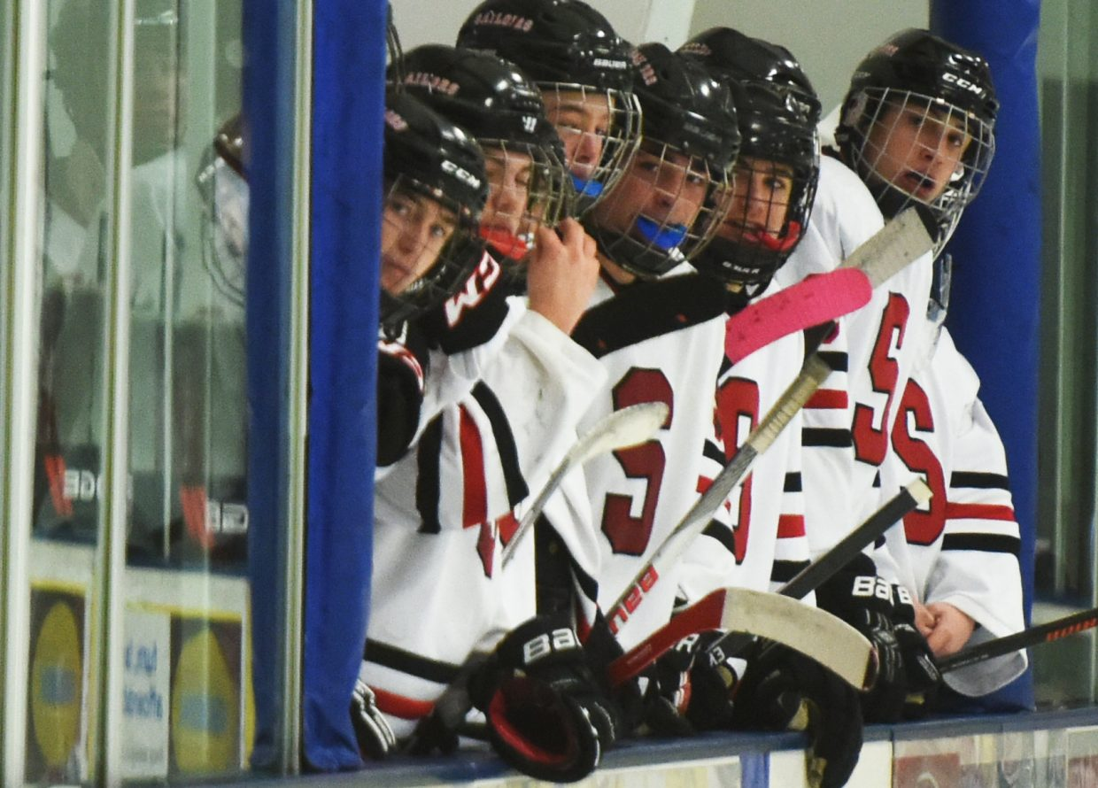The Steamboat Springs High School hockey team went 2-0 on the weekend and is hoping to lock up a home playoff game for later this month.