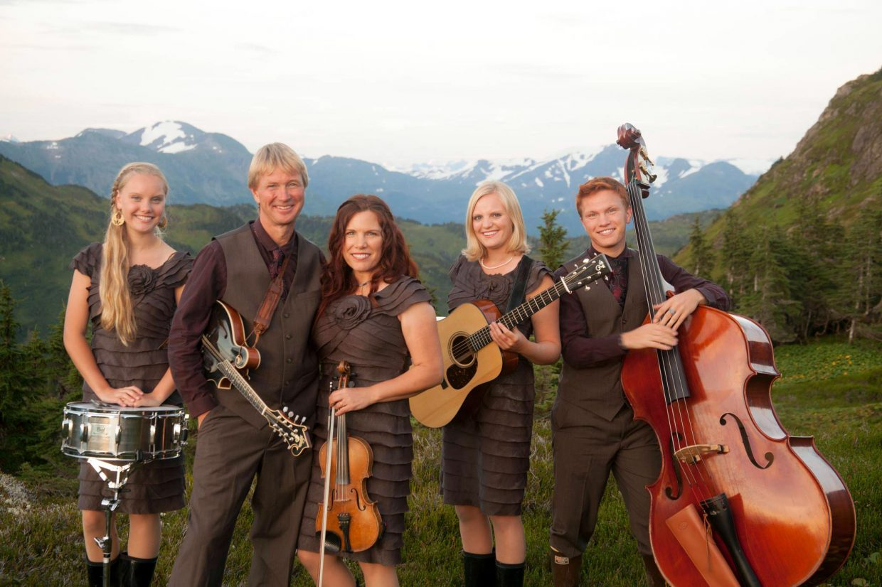 """The Zahasky family act Alaska String Band, pictured, will perform """"A Southeast Alaskan Odyssey"""" Saturday night at the Moffat County High School auditorium as part of the Craig Concert Association series."""