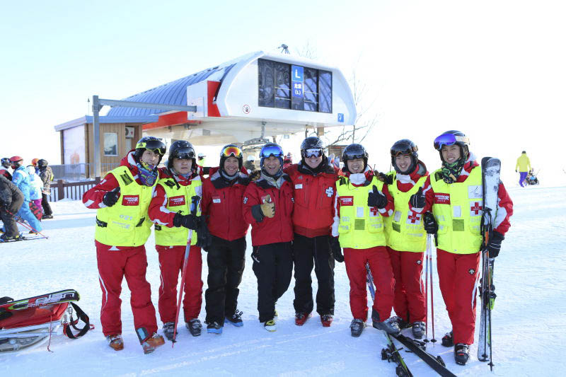 Three Steamboat Ski Area ski patrol members are in China as part of an exchange program.