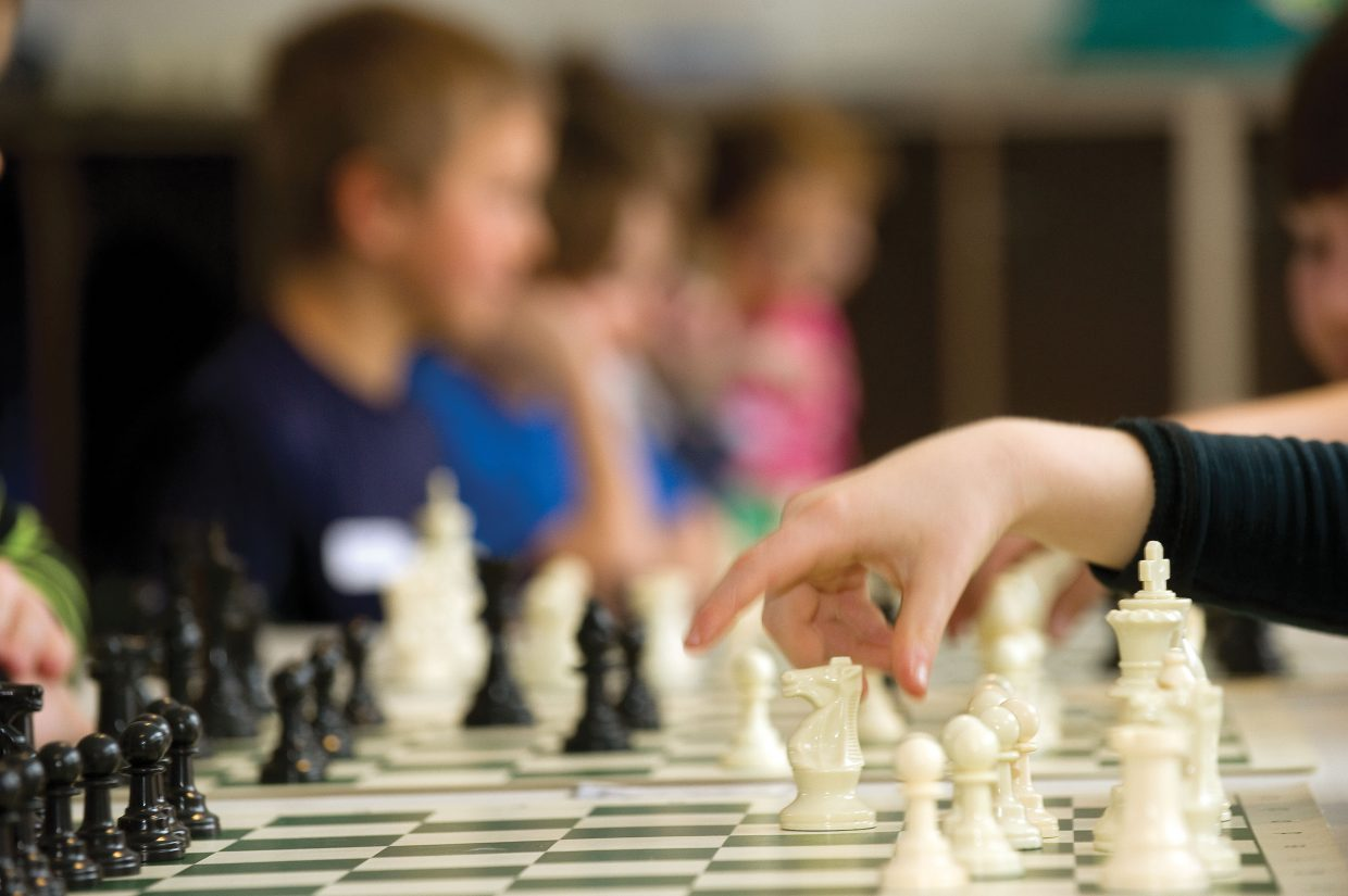 Students at Strawberry Park Elementary School were hoping to make the right move during a chess tournament Wednesday afternoon.
