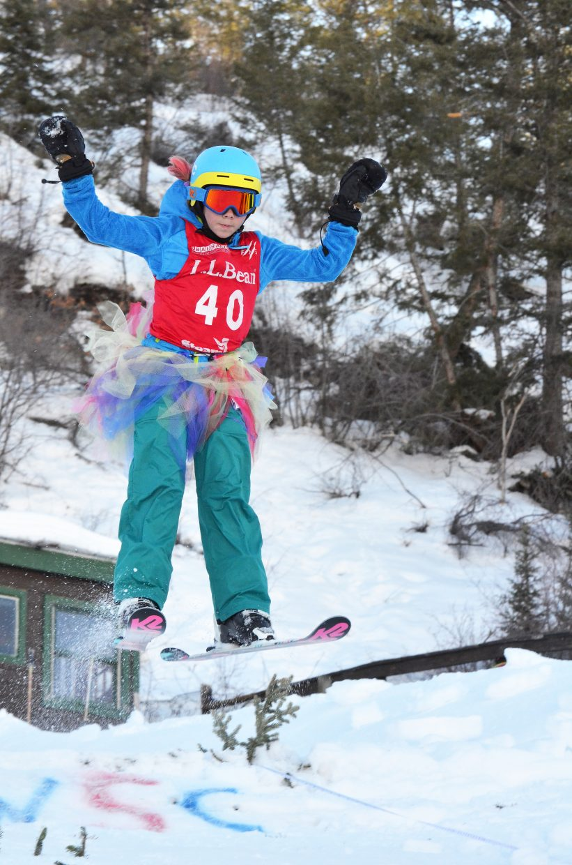 On the cover: Ava Rose, 10, takes part in the Ski Jumping Jamboree during the 101st Winter Carnival at Howelsen Hill this month. With women's ski jumping having achieved stature as an Olympic sport, the number of girls taking part in ski jumping with the Steamboat Springs Winter Sports Club has grown dramatically.