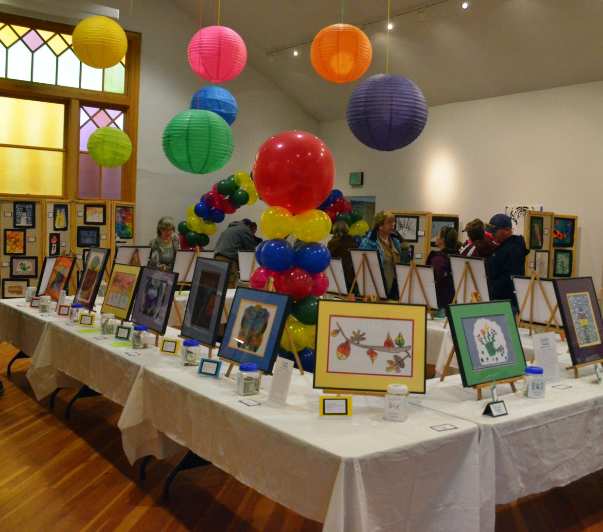 Cherish the Little Things Art Show, hosted by Connections 4 Kids, featured about 300 artworks by area students of all ages.