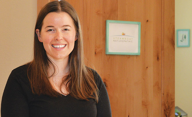 Naturopathic doctor Grace Calihan opened a new practice in Steamboat Springs this month.