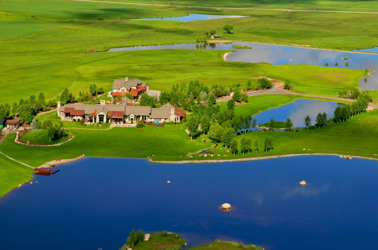 The Wildflower Meadows estate sits along U.S. Highway 40 just south of Steamboat Springs.