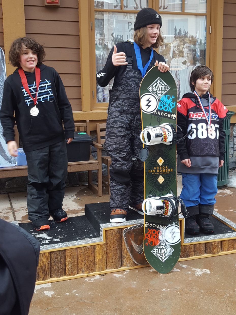 Jackie Clemente was third in his division at a USASA event last weekend at Winter Park.